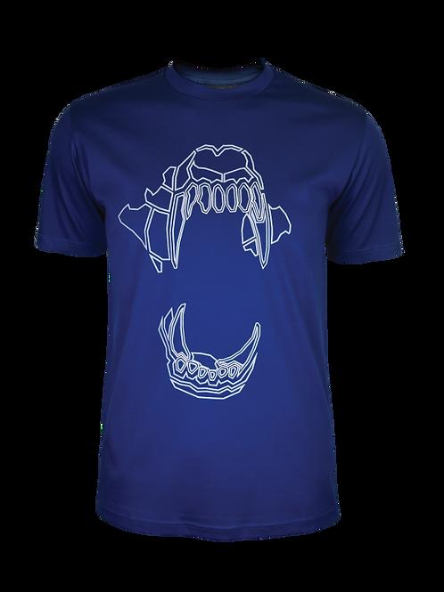Navy (White / Grey) Bite T-Shirt