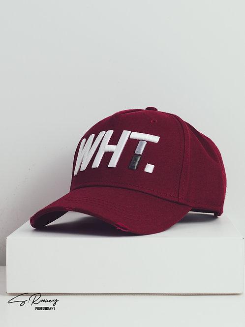 Maroon WHT Cap