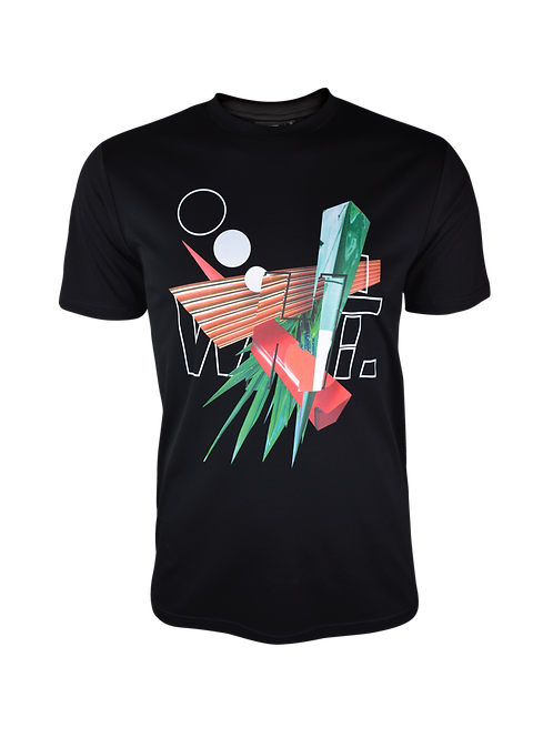 Black Abstract T-Shirt