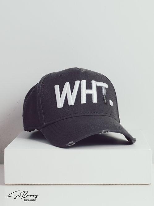 Dark Grey WHT Cap
