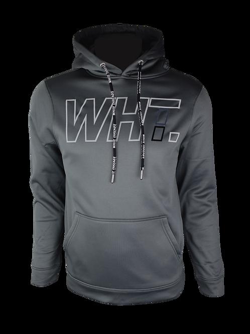 Grey WHT Hoodie