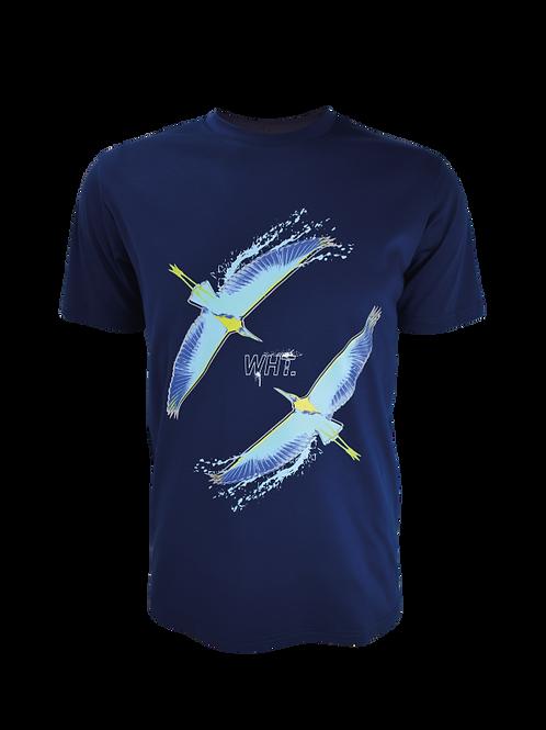 Navy Bird Duo T-Shirt