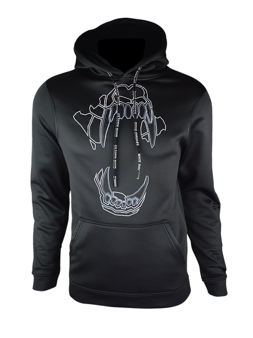 AW20 Black Reflect Bite Hoodie V1