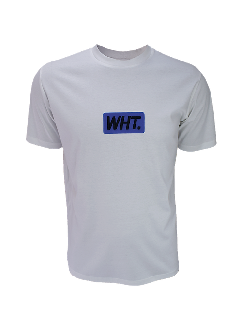 White / Blue 3D WHT T-Shirt