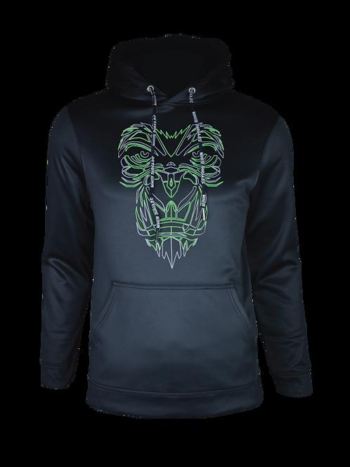 Black Reflective Gorilla (Neon) Hoodie