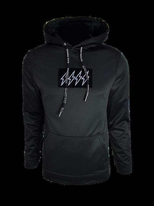 Black 3D 4 Bolt Hoodie (1)