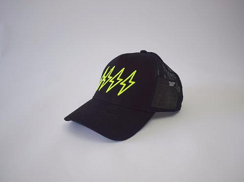 Neon 4 Bolt Trucker Cap