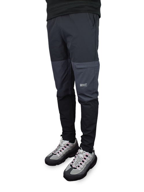 Dark Grey / Light Grey Combat V3 Tracksuit Bottoms