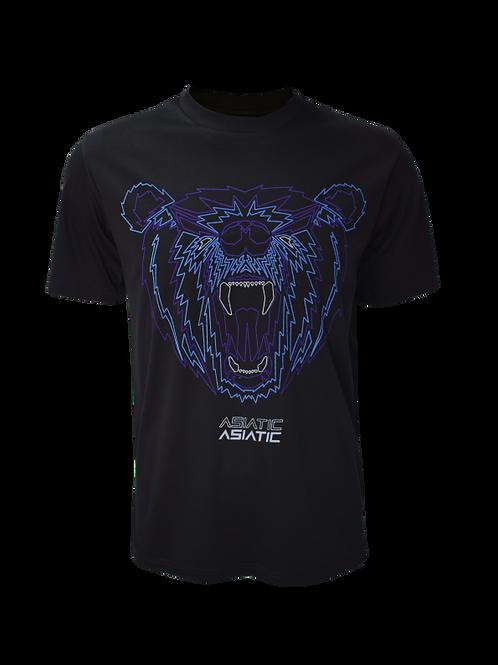 Black Reflective Asiatic T-Shirt
