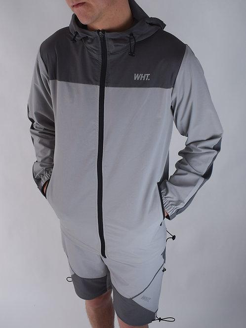 Light Grey / Dark Grey V4 Windbreaker