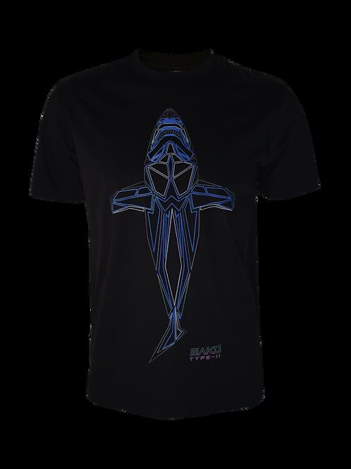 Black Obsidian Mako T-Shirt