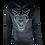 Thumbnail: Black Reflective Hyena Hoodie