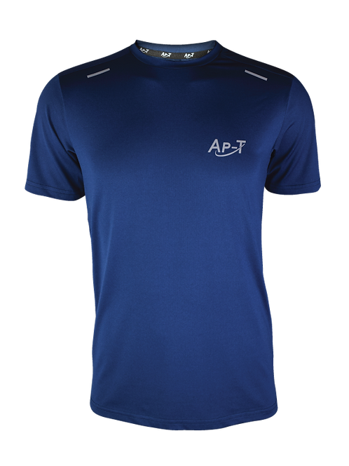 Navy Breathable Short Sleeve