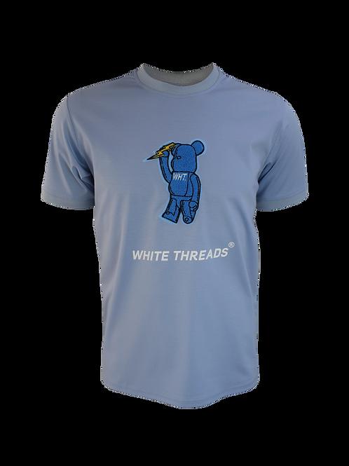 Sky Blue 3D Bear T-Shirt