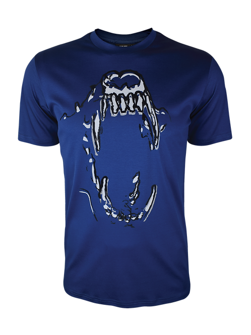 Navy Reflective Bite 2.0 T-Shirt
