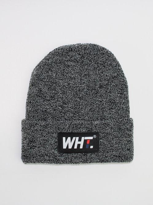 'Mid Grey' WHT Logo Beanie