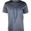 Thumbnail: Grey Reflective Bolt T-Shirt