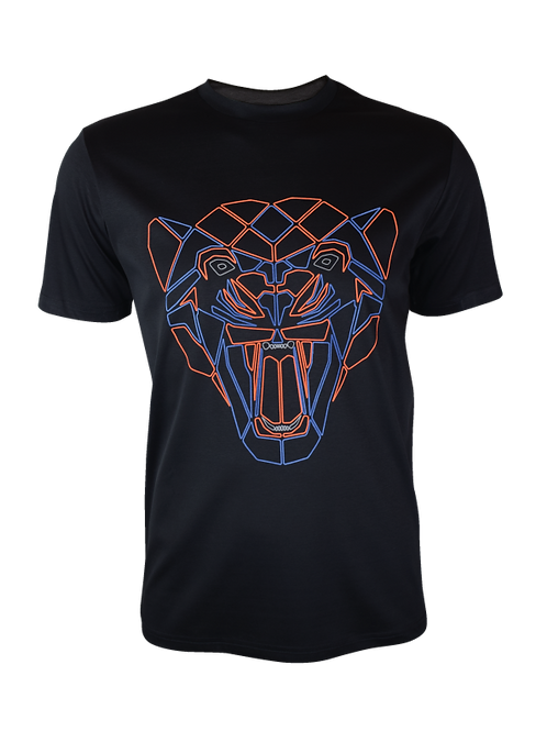 Black Reflective Puma T-Shirt