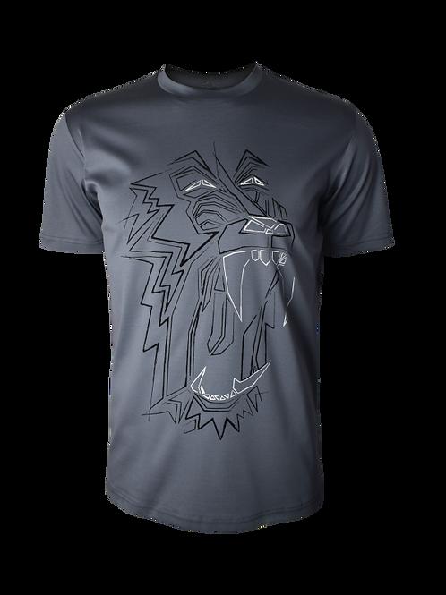Steel Grey Baboon T-Shirt