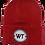 Thumbnail: Red WT Beanie
