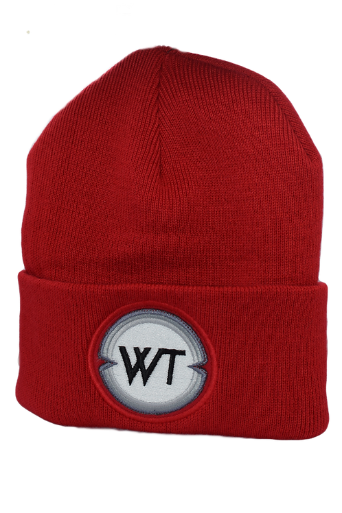 Red WT Beanie