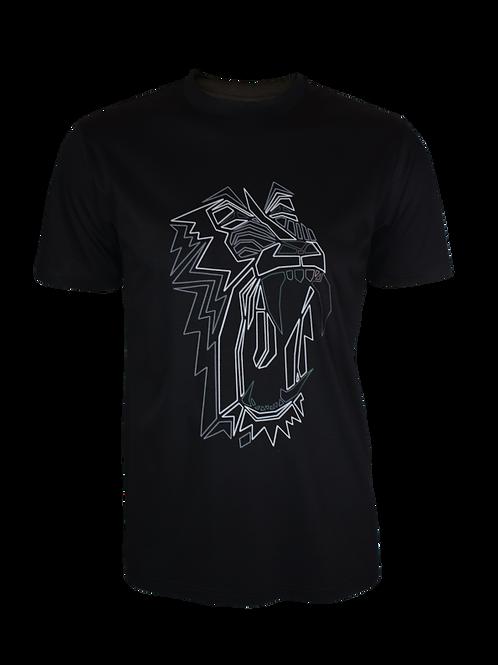 Black Obsidian Baboon T-Shirt