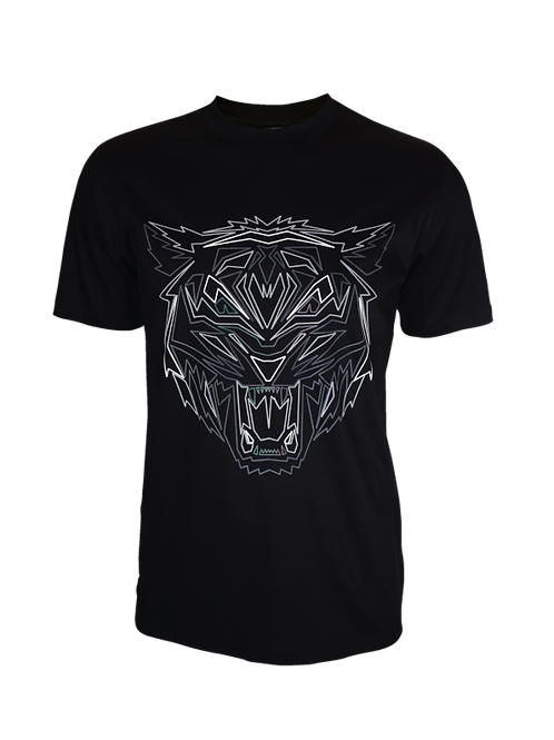 Black Obsidian Tiger T-Shirt