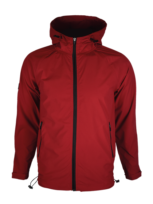 Ruby Red Windbreaker