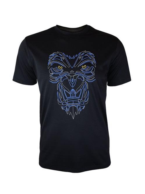 Black Reflective Gorilla T-Shirt