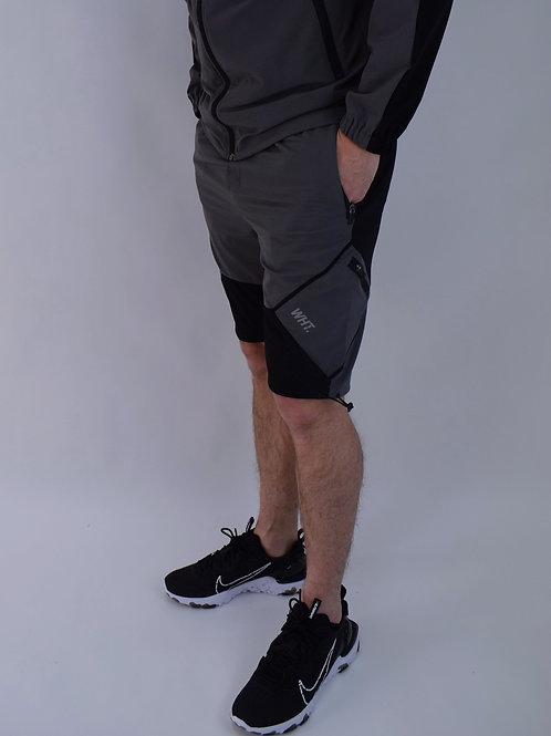 Kids Black / Dark Grey V4 Cargo Shorts