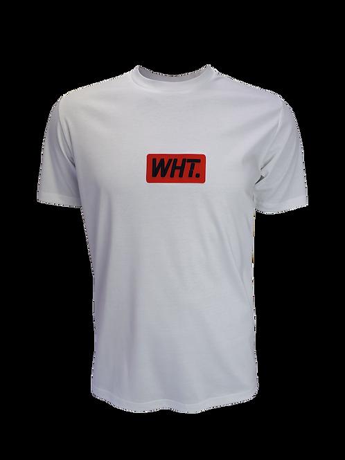 White / Red 3D WHT T-Shirt