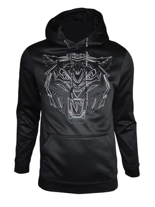 Black Obsidian Tiger Hoodie