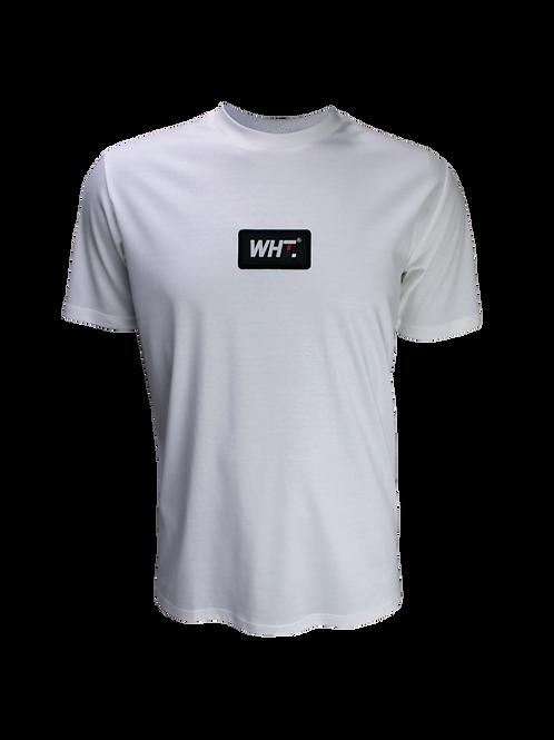 White Rubber Logo T-Shirt