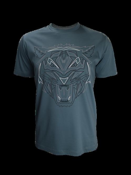 Teal Obsidian Tiger T-Shirt