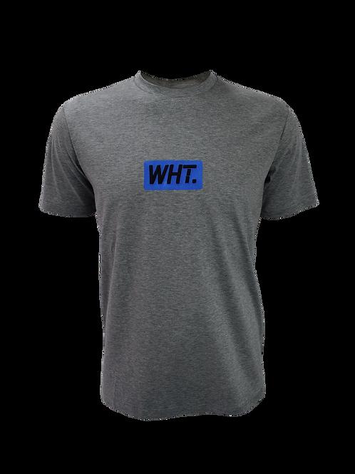 Kids Grey / Blue 3D WHT T-Shirt