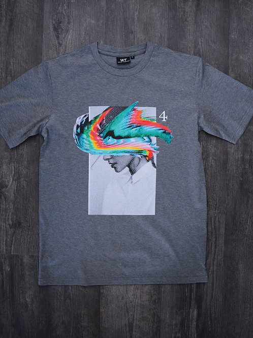 Grey No.4 T-Shirt