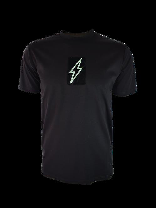 Black 3D Box Bolt 2 T-Shirt