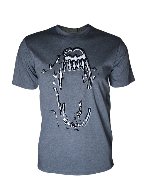 Grey Reflective Bite 2.0 T-Shirt