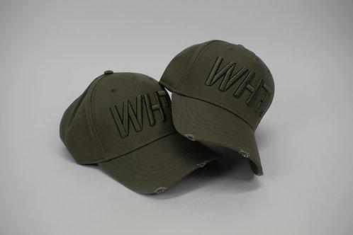Khaki on Khaki WHT Cap