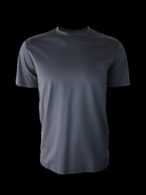 Plain Steel Grey T-Shirt