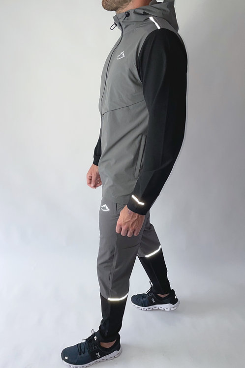 Dark Grey / Black Track Pants