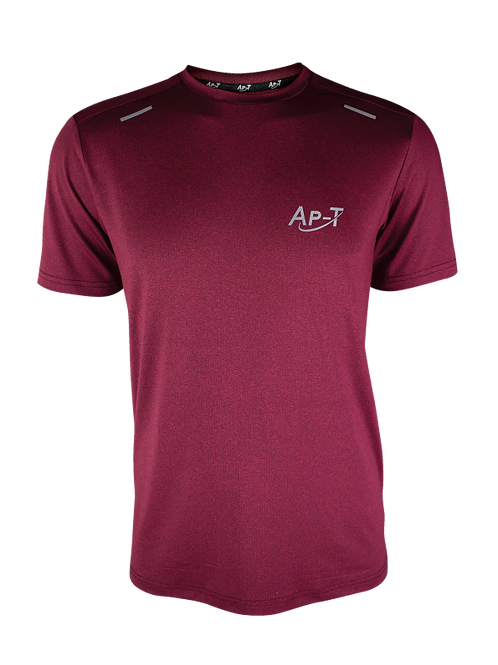 Maroon Breathable Short Sleeve