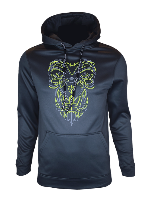 Grey Reflective Gorilla (OG Neon) Hoodie