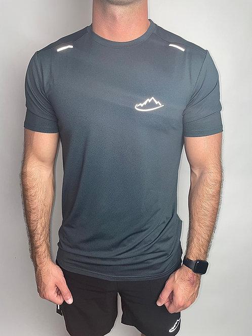Dark Grey Breathable T-Shirt