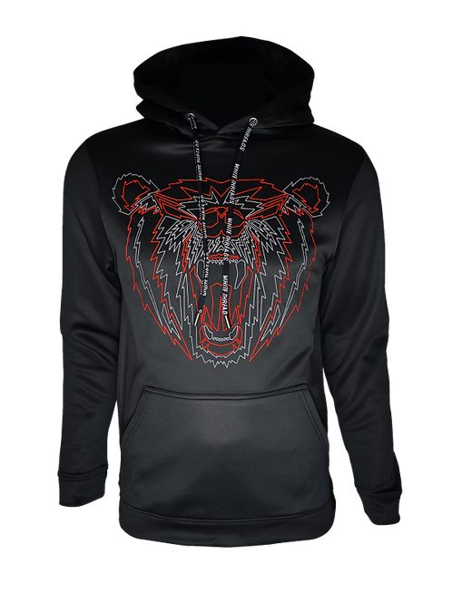 Black Reflective Asiatic Hoodie
