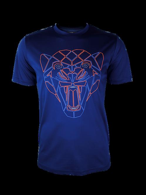 Navy Reflective Puma T-Shirt