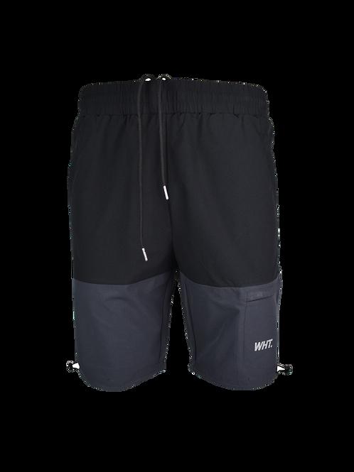 Kids Black / Dark Grey V3 Cargo Shorts