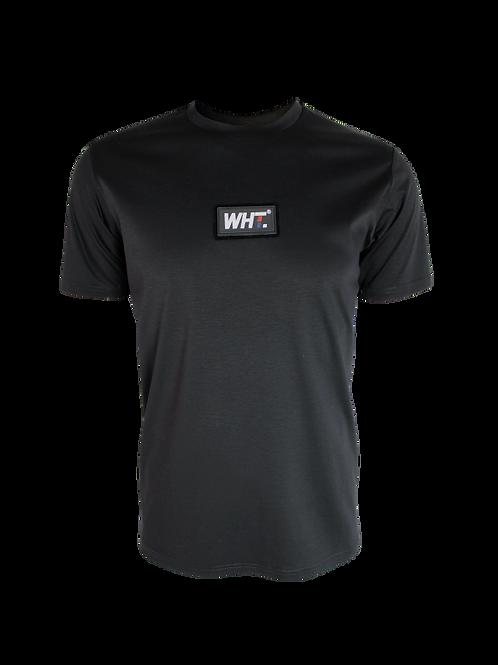 Black Rubber Logo T-Shirt