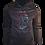 Thumbnail: Grey Reflective Baboon (Red) Hoodie