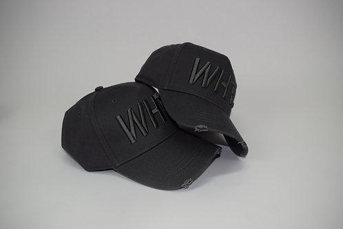 Grey on Grey WHT Cap